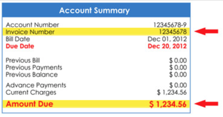Billing - Account Summary Image