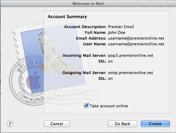 Email - Apple Account Summary Image