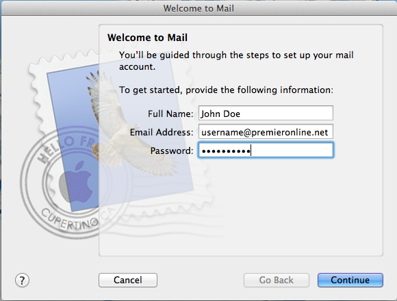 Email - Apple Welcome Image